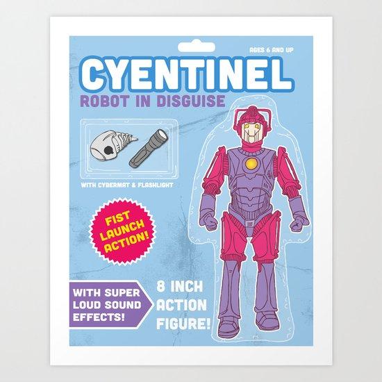 Cyentinel: Robot in Disguise  Art Print