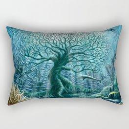 Undersea Witness Rectangular Pillow