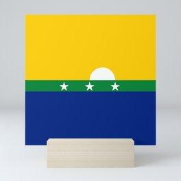flag of nueva esparta, Venezuela Mini Art Print