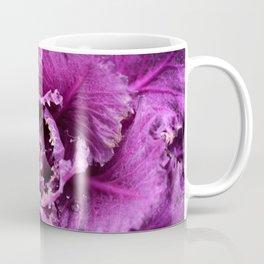 Purple Plant with Dew Drops Coffee Mug