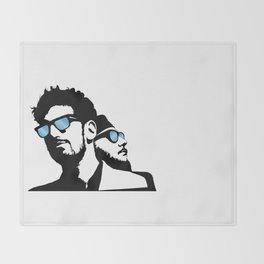 Chrome Vision Throw Blanket