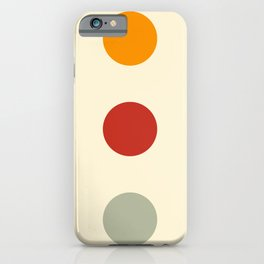 Morfran - Colorful Decorative Abstract Dots Art Pattern iPhone Case