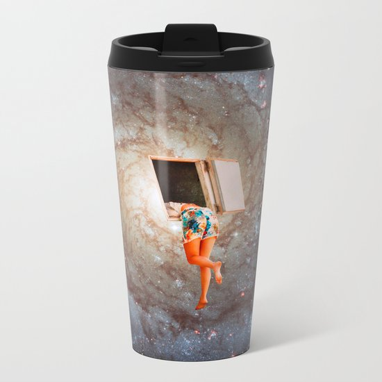 My Space Metal Travel Mug