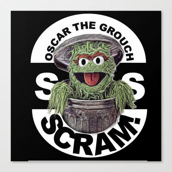 Scram! Canvas Print
