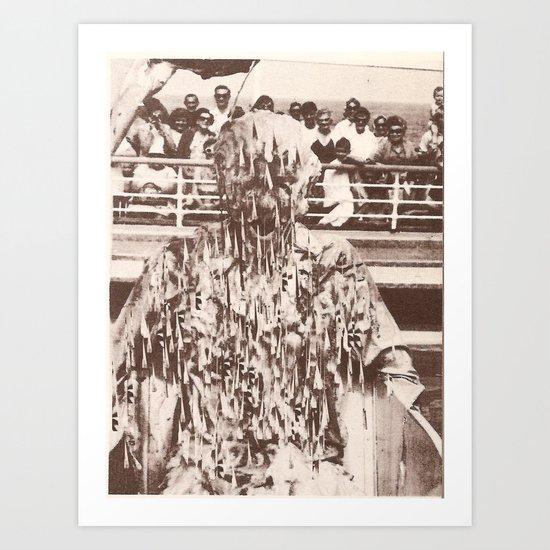 'jesus was just like me' -Print Art Print