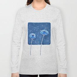 Winter's Flowers Long Sleeve T-shirt