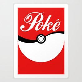 Poké Art Print