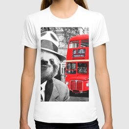 Sloth in London T-shirt