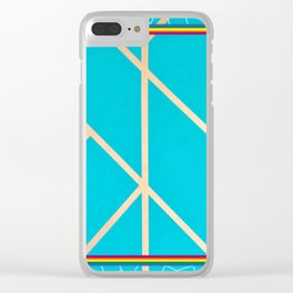 Leaf - web graphic Clear iPhone Case