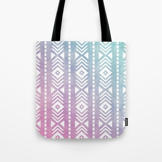 Aztec Pattern 12 Tote Bag