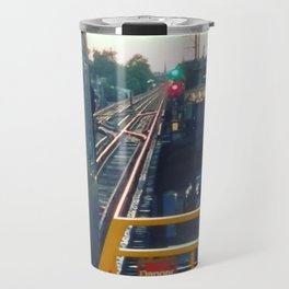 The El at Sunset Travel Mug