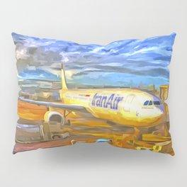 Iran Air Airbus A330 Pop Art Pillow Sham