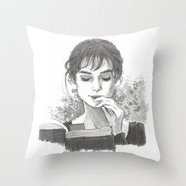 Pride & Prejudice - Elizabeth Bennet Throw Pillow