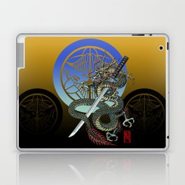 Dragon katana Uesugi Laptop & iPad Skin