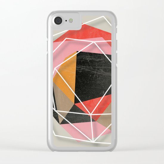Fill & Stroke II Clear iPhone Case