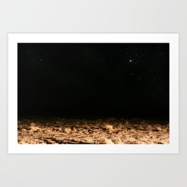 THE SPACE Art Print