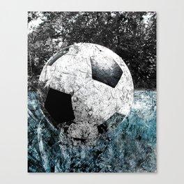Modern soccer version 1 Canvas Print