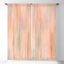Desert Sunset in Acrylic v.3 Blackout Curtain