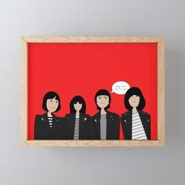 Ehy ho! Let's go! Framed Mini Art Print