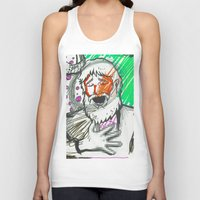 sketch Tank Tops featuring Sketch by Alec Goss