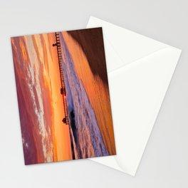 Monsoon Sunset / Huntington Beach Pier  9/9/15 Stationery Cards
