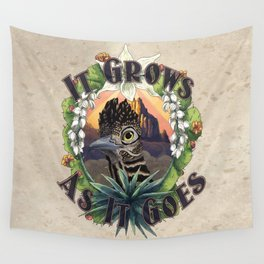 It Grows As It Goes Wall Tapestry