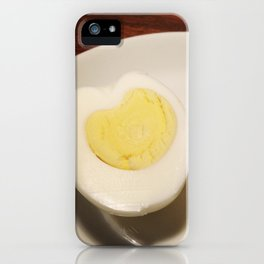 Egg Hearts iPhone Case