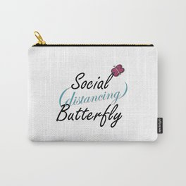 Social Butterfly Carry-All Pouch