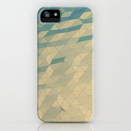 Only Colored Triangles iPhone Case