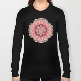 Elegant Paisley Long Sleeve T-shirt