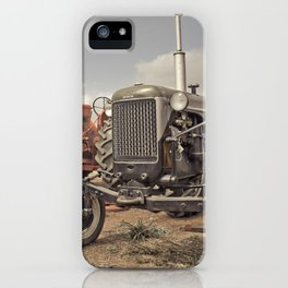Tractor Show iPhone Case