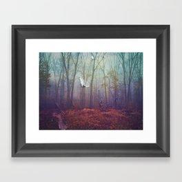 A Different Kind Of Forest Framed Art Print