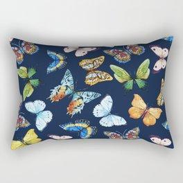 Butterfly Pattern 03 Rectangular Pillow