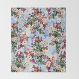Summer Botanical Garden IX-II Throw Blanket