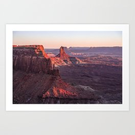 Martian Sunset Art Print