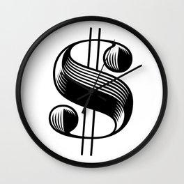 Dollar $ign Wall Clock