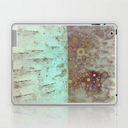 Autumn Birch Tree Abstract Laptop & iPad Skin