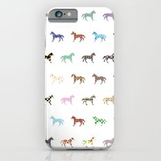 Colorful Horses Lantern Pattern  Slim Case iPhone 6s
