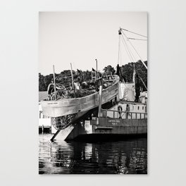 After a long day's work Canvas Print