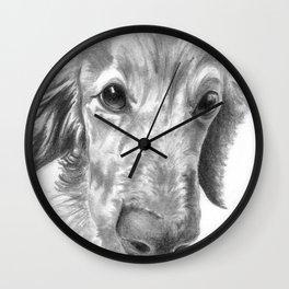 Dogface Wall Clock