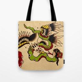 Batalla de la cuaima Tote Bag