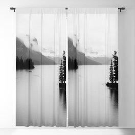Maligne Lake   Landscape Photography   Alberta   Canada Blackout Curtain