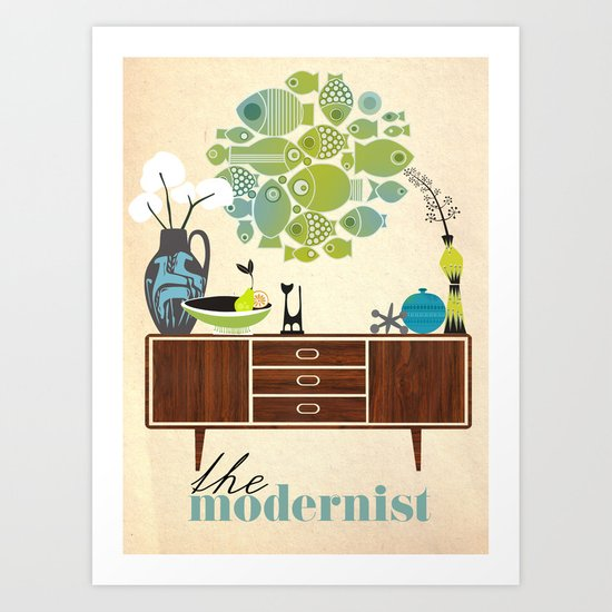 the Modernist Art Print