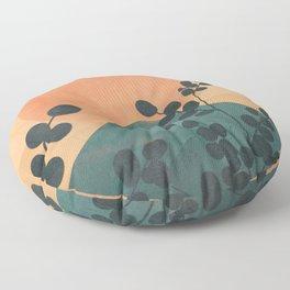 Mountain Sun Floor Pillow