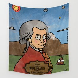 Wolfgang from Earth (Clavicembalo) Wall Tapestry