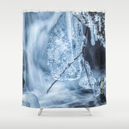 Ice and Water, No. 1 Shower Curtain