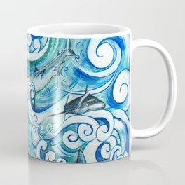 Shark wave Coffee Mug
