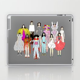 Outfits of Bjork Fashion Laptop & iPad Skin