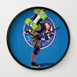 Storm City Roller Girls - SCRG Wall Clock