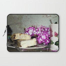 Coffee and Cake Still Life Laptop Sleeve